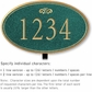 Salsbury 1430JGFL Signature Series Address Plaque