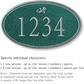 Salsbury 1430JSDS Signature Series Address Plaque