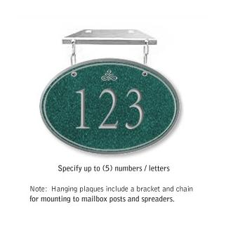 Salsbury 1435JSIH Signature Series Address Plaque