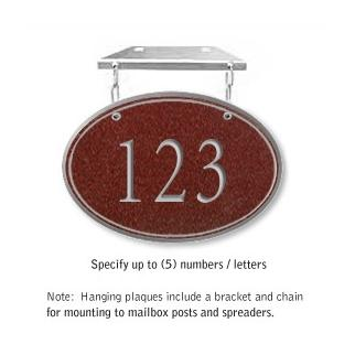 Salsbury 1435MSNH Signature Series Address Plaque