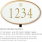 Salsbury 1430WGSL Signature Series Address Plaque