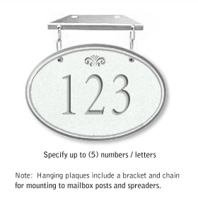 Salsbury 1435WSFH Signature Series Address Plaque