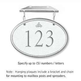 Salsbury 1435WSIH Signature Series Address Plaque
