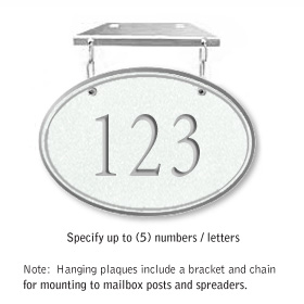 Salsbury 1435WSNH Signature Series Address Plaque