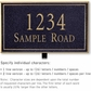 Salsbury 1412BGNL Signature Series Address Plaque