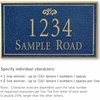 Salsbury 1412CGFS Signature Series Address Plaque