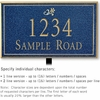 Salsbury 1411CGDL Signature Series Address Plaque