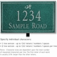 Salsbury 1411JSDL Signature Series Address Plaque