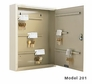 Single Tag Key Cabinet - 715 Key Capacity