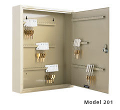 Single Tag Key Cabinet - 30 Key Capacity