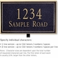 Salsbury 1410BGNL Signature Series Address Plaque