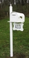 SPK-678 - Brighton Mailbox Post & Address Sign