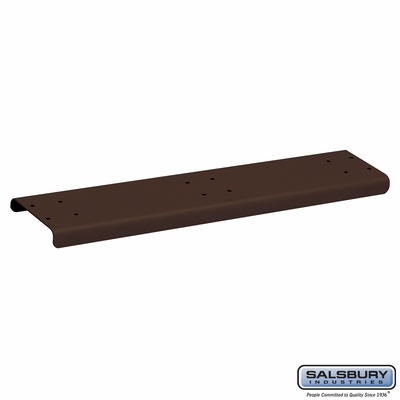 Salsbury 4883BRZ Spreader 3 Wide For Rural Mailbox Bronze Finish