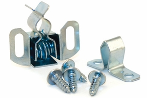 "Spring Latch Kit - "" Holds"" Top Door Closed"