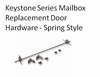 Spring Style Door Hardware Kit for Gaines Mailbox
