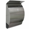 Stainless Steel Modern, Contemporary Jensen Mailbox