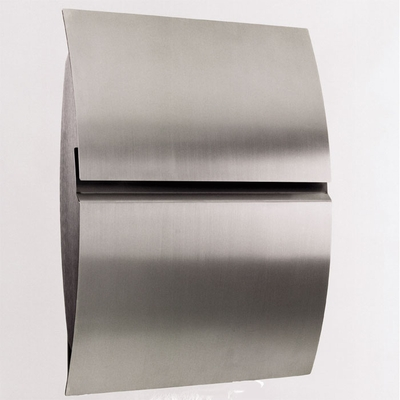 Stainless Steel Modern, Contemporary Vega Galaxy Mailbox