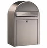 USPS Bobi Classic Stainless Steel Front Access Lockable Mailbox