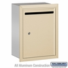 Salsbury 2245SP Standard Letter Box - Recessed Mounted - Sandstone - Private Access