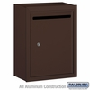Salsbury 2240ZP Standard Letter Box - Surface Mounted - Bronze - Private Access