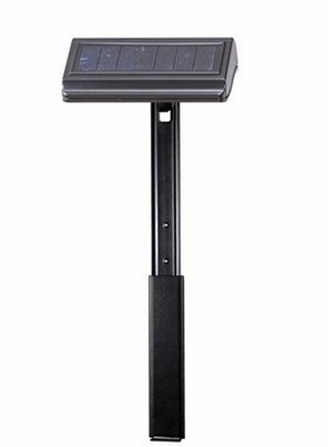 Whitehall Standard or Estate Size Solar Lamp with Extender Ground Mount