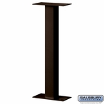 Standard Pedestal - Bolt Mounted - For Designer Roadside Mailbox