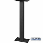 Standard Pedestal - Bolt Mounted - For Roadside Mailbox And Mail Chest