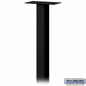 Standard Pedestal - In-Ground Mounted - For Roadside Mailbox, Mail Chest & Mail Package Drop