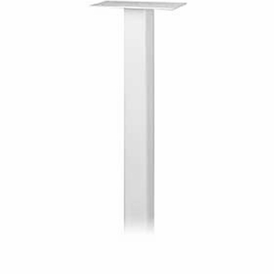 Salsbury 4385WHT Standard Pedestal In Ground Mounted For Roadside Mailbox White