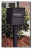 SINGLE Locking Curbside KIT Standard Surface Mount (Mailboxes purchased separately)