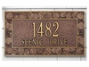 Whitehall Standard Size Aspen Wall Plaque - (1 or 2 Lines)