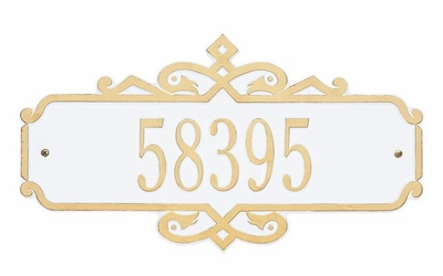 Whitehall Standard Size Coventry Wall Plaque - (1 Line)