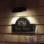 Illluminated Address Plaques