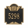 Standard Size Monogram Wall or Lawn Plaque - (1 or 2 lines)