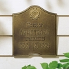 Whitehall Standard Size Penn Dutch Anniversary Wall Plaque - (2 Lines)