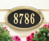 Whitehall DeSign It Series Address Plaques