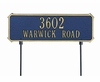 Whitehall Standard Size Two - Sided Rectangle Lawn Sign - (1 or 2 Lines)