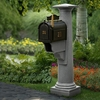 Granite Statesville Post and Mailbox Package