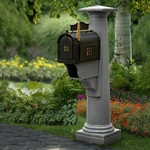Whitehall Mailboxes with Statesville Posts