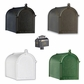 Statesville Mailbox Package with Granite Post