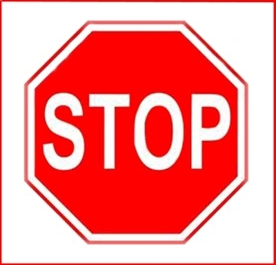"""Stop Sign Reflective Faceplate 24"""""""