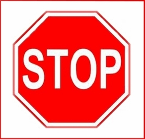 Stop Sign Reflective Faceplate 24""