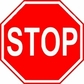 Stop Sign Reflective Faceplate 30""