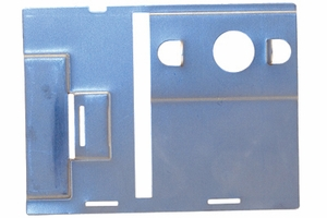 Subplate for Auth #40, #46 Box w/ Flat Key Lock