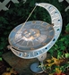 Whitehall Sun and Moon Sundial - French Bronze