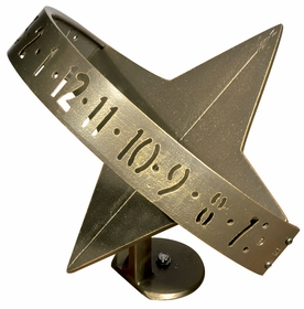 Whitehall Sun Clock Sundial - French Bronze