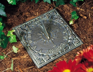 Whitehall Sunny Hours Sundial - Oil Rub Bronze