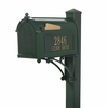 Whitehall Superior Mailbox Package in Green
