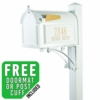 Whitehall Superior Mailbox Package in White