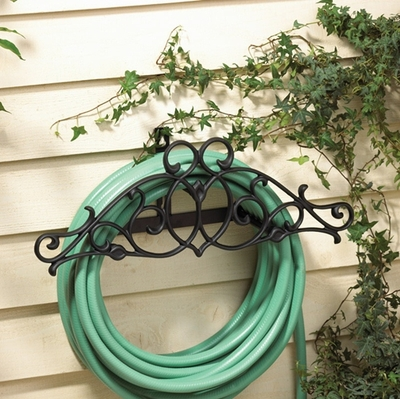 Whitehall Tendril Hose Holder - French Bronze
